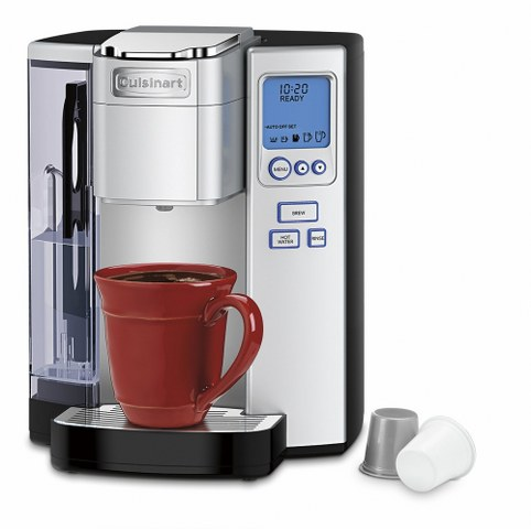 Cuisinart SS-10 Premium Single-Serve Coffeemaker front part